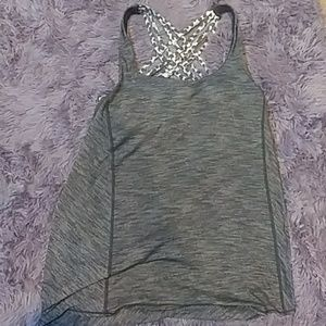 Lululemon Tank with built in Bra, size 8